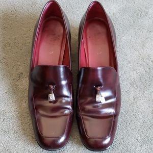 EUC Ralph Lauren Sz 9 leather heels